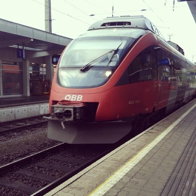 Danach gings mit der ÖBB 4042 119-2 'Talent' als REX nach Bruck/Mur und weiter zur Station Kapfenberg-Fachhochschule zu meinem Aufnahmetest an der FH Joanneum